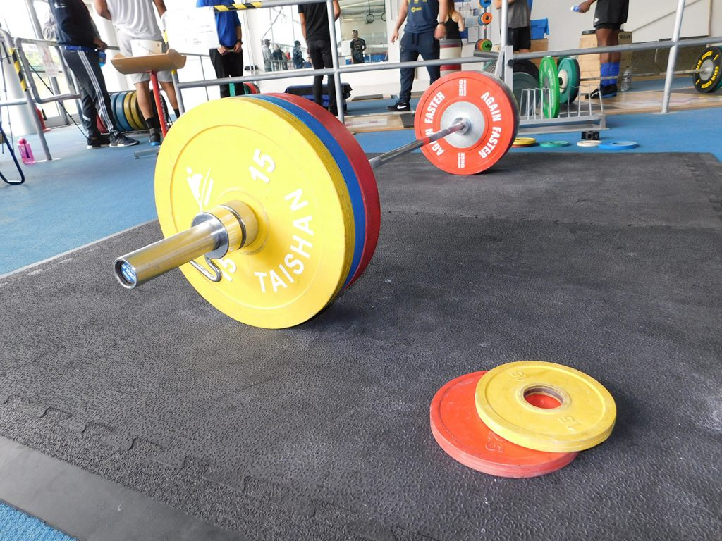 The club u olympic weightlifting platform nlwlc